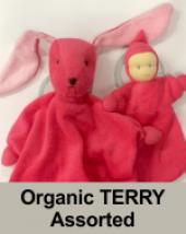 Hoppa Organic Terry Dolls