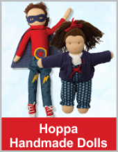 Hoppa Waldorf Dolls - Handmade