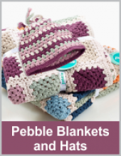 Pebble Blankets and Hats